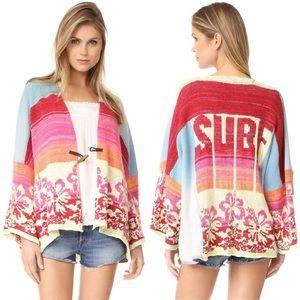 NEW Free People FP SURF Kimono Oversized Sweater